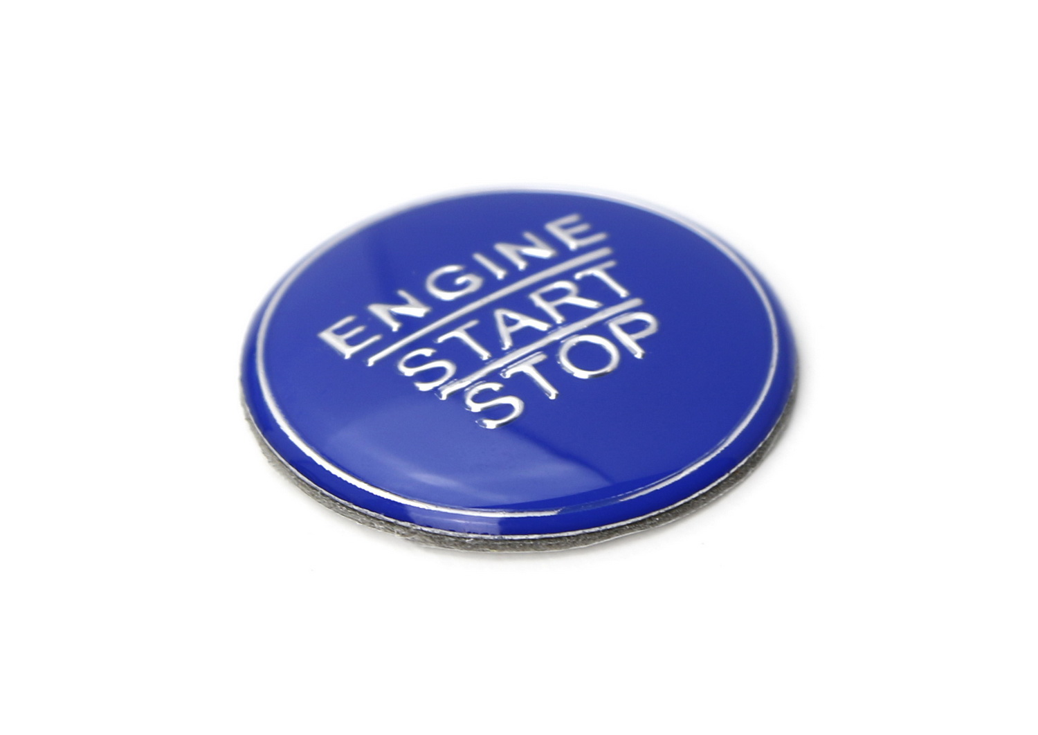 Gloss Blue Keyless Engine Push Start Button Cover For Toyota Camry Tacoma Prius Avalon Mirai etc w//Push Start Engine On//Off Feature 1 iJDMTOY