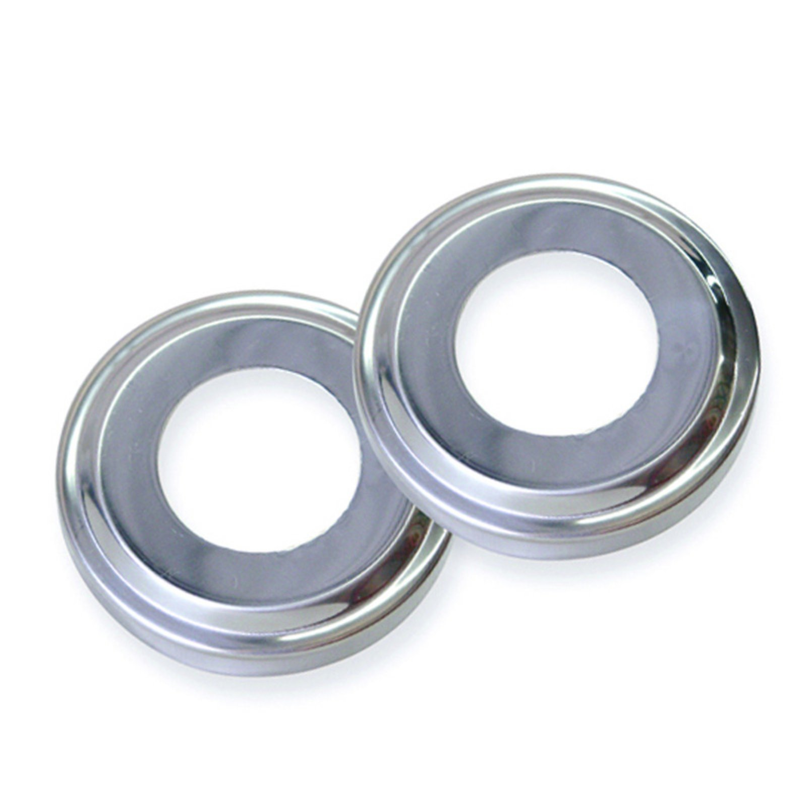 Swimline Stainless Steel Escutcheons for In Ground Pool Handrail, Pair