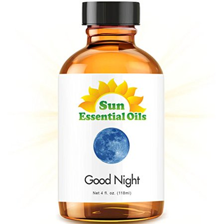 Good Night Blend   Large 4 Ounce Best Essential Oil  Compare To Doterra Serenity  Young Living Peace   Calming   Chamomile  Copaiba  Lavender  Sandalwood   More