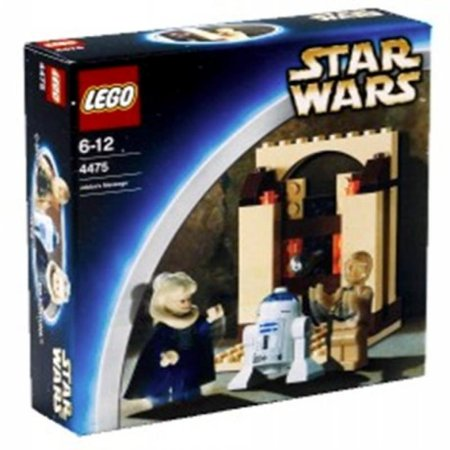 Lego Star Wars Jabbas Message 4475 Walmartcom