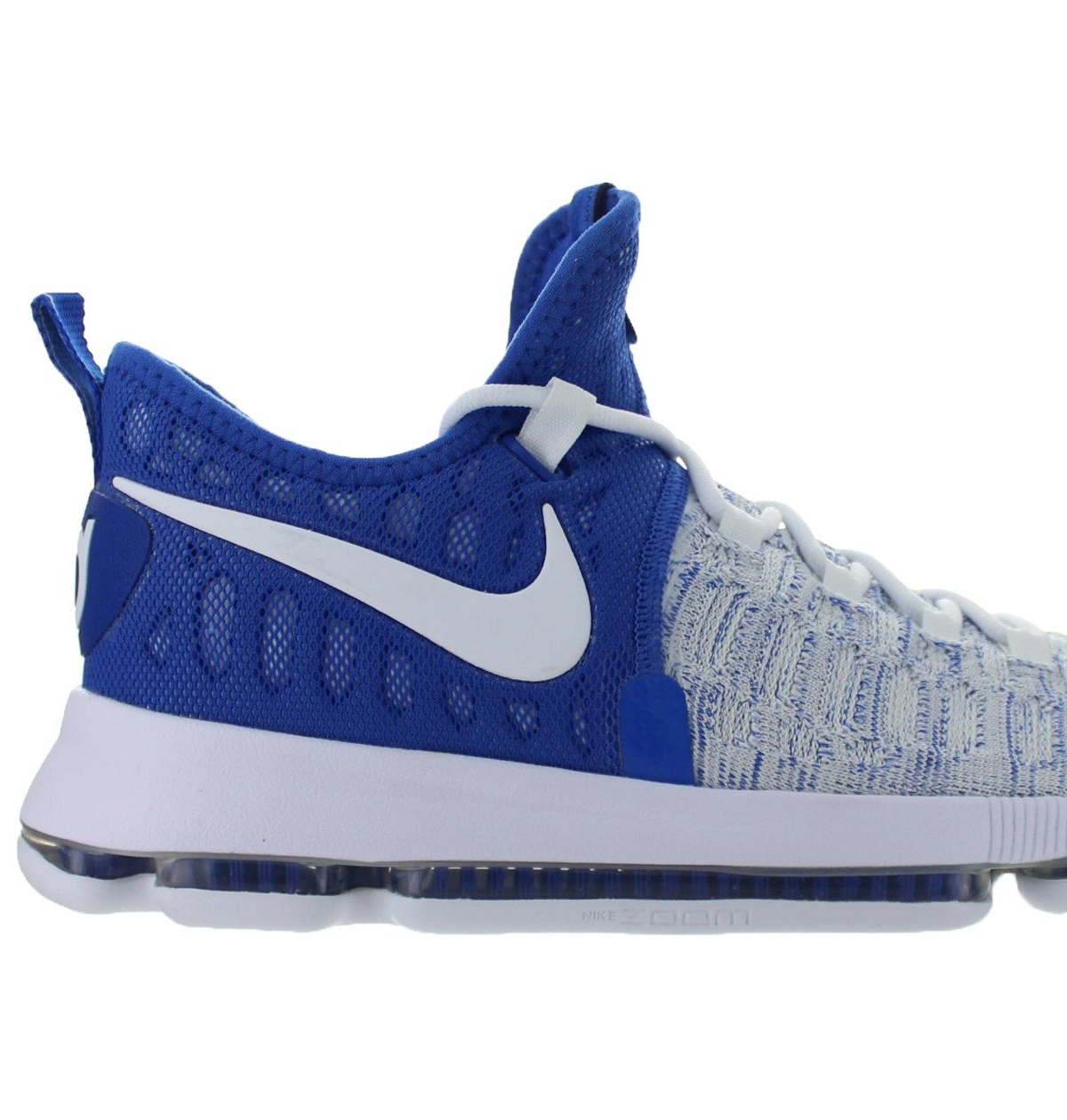 d08b98387b3c Mens Nike Zoom KD 9 IX Home II Game Royal White 843392-411 - Walmart.com
