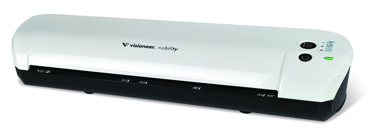 Refurbished Visioneer Mobility CDF + SHeet-fed 300 x 300DPI Black,White by VISIONEER
