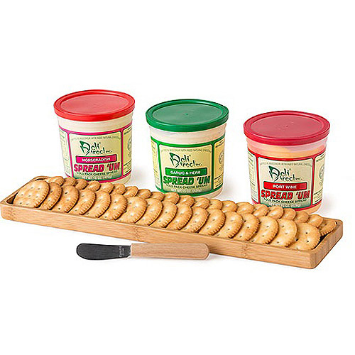 Deli Direct Wonderful Wisconsin Party Variety Cheese Spreads Gift Pack