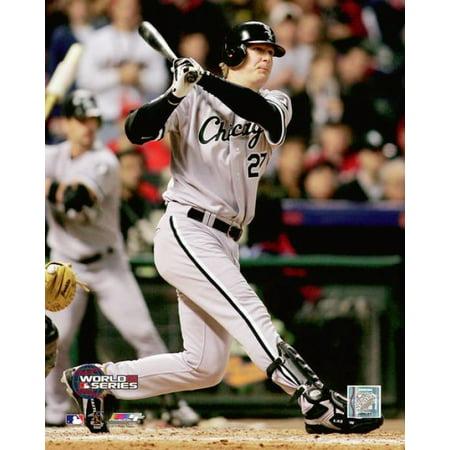 Geoff Blum 2005 World Series Game 3 Game Winning Home Run Photo Print