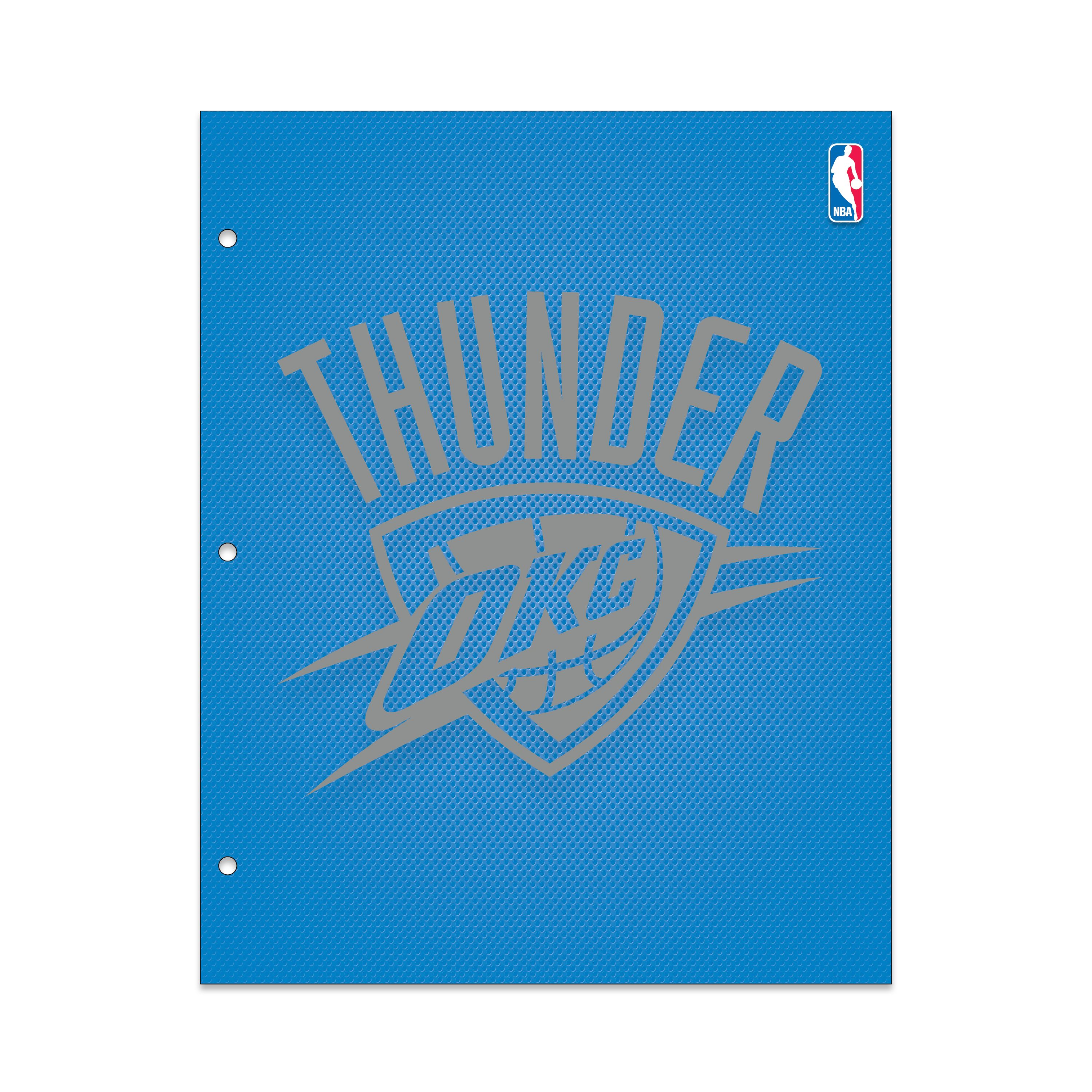 OK CITY THUNDER METALLIC PORTFOLIO