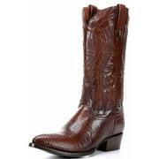 Dan Post Western Boots Mens Durham Lizard Teju Antique Tan DP2351J