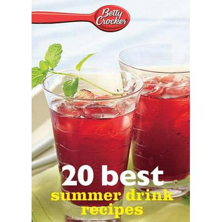 Betty Crocker 20 Best Summer Drink Recipes (Best Summer Cocktail Recipes)