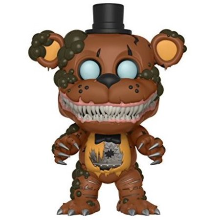 FUNKO POP! BOOKS: Five Nights At FreddyS- Twisted Freddy](Five Nights At Freddy's 4 Jumpscares Halloween)