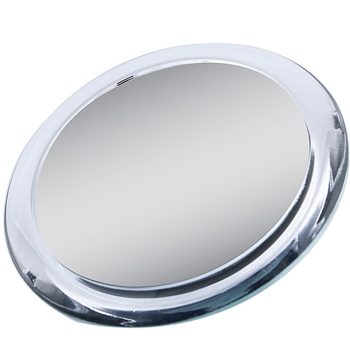 Zadro Two-Sided Compact Mirror with 1x & 5x Magnification, Acrylic