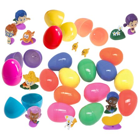 12 Bubble Guppy Figurines In Jumbo Toy Filled Easter Egg - Prefilled To  Save You Time - Bright Assorted Colors - Favorite Characters Like Gil,  Goby,