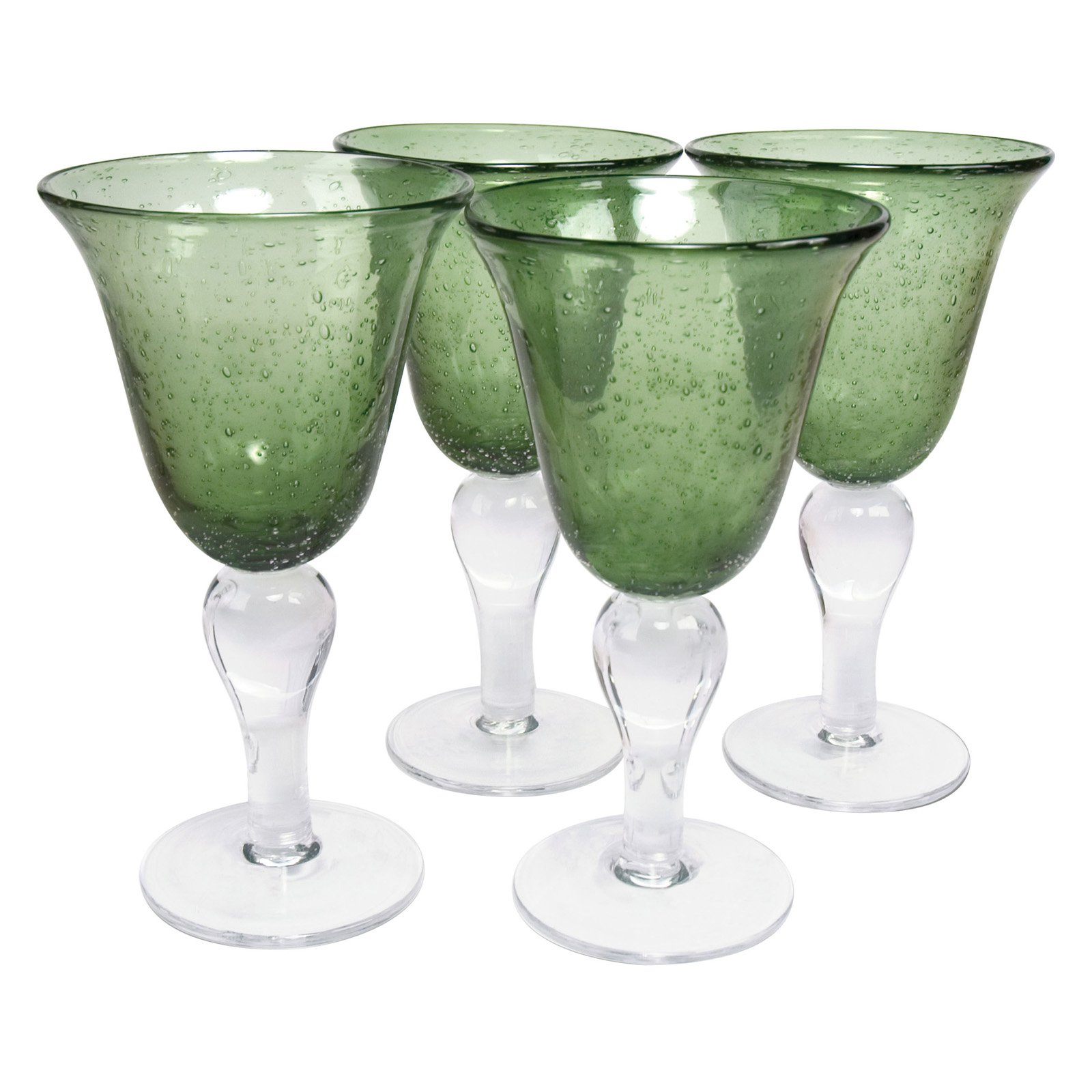 Artland Inc. Iris Sage Goblet Glasses - Set of 4