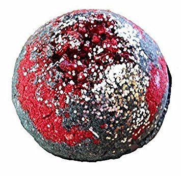 ECLIPSE Mega Bath Bomb by Soapie Shoppe Smells like Champagne and Pomegranate!