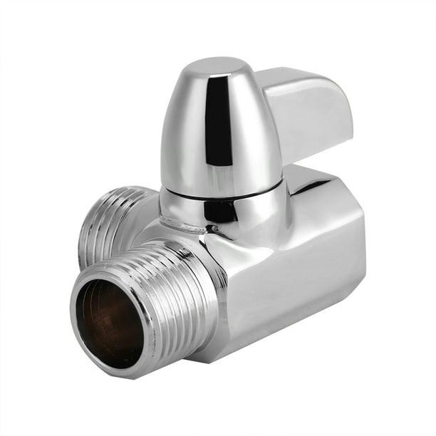 Practical 3-Way Shower Head Diverter Valve Sprayer Arm Mount T-Adapter Diverter