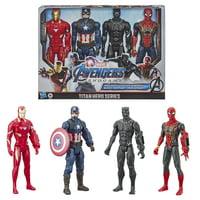 Marvel Avengers: Endgame Titan Hero Series 4-Pack Action Figure Set