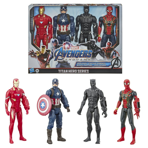 (41% OFF Deal) Marvel Avengers: Endgame Titan Hero Series Action Figure 4 Pack $20.00