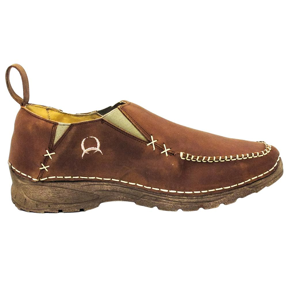 Cinch Men's Leather Casual Slip On Shoe