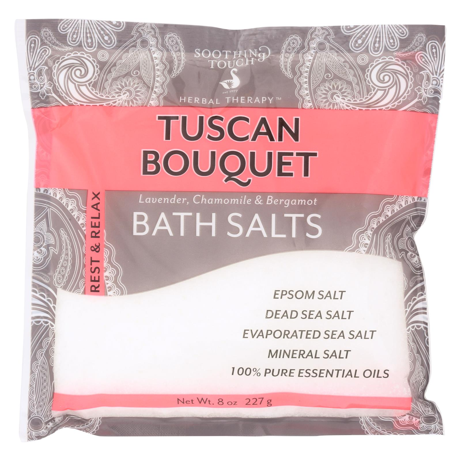 Soothing Touch Bath Salts - Tuscan Bouquet - Case of 6 - 8 oz