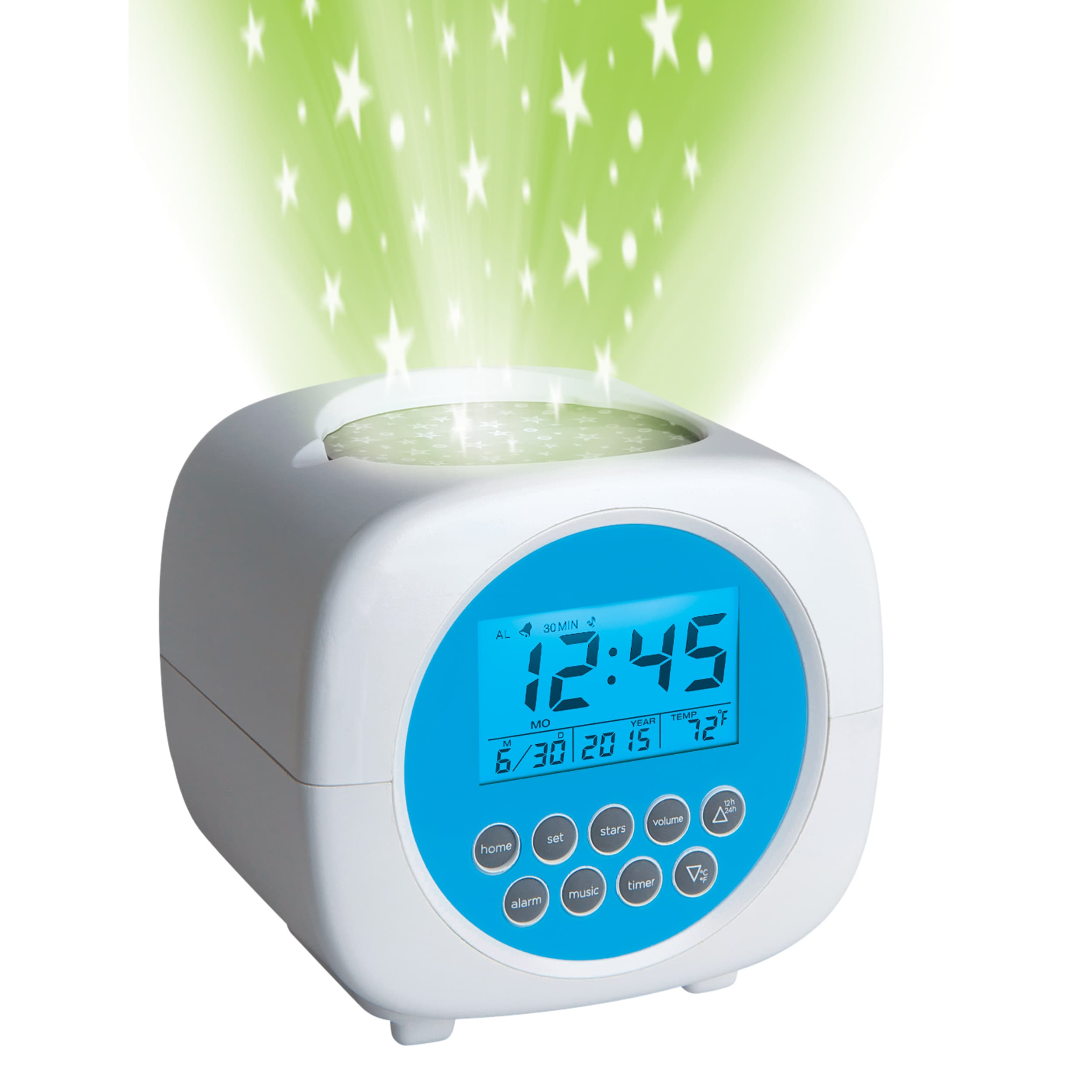 Discovery Kids Sound Machine Projection Alarm Clock - Walmart com