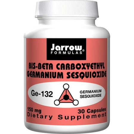Jarrow Formulas Germanium Ge-132, Powerful antioxidant, 150 mg, 30 Caps