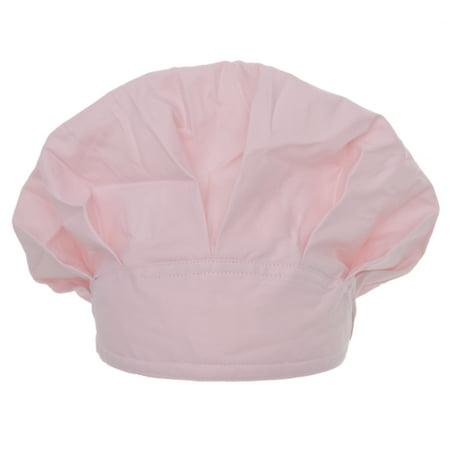 Opromo Long Hair Bouffant Scrub Cap Bouffant Scrub Hat with Sweatband Adjustable-Pink Blue Scrub Cap