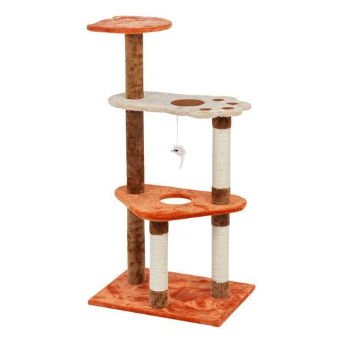 IRIS Plush Cat Tree, 3-Tier by IRIS USA, Inc.