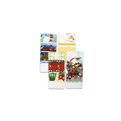 DDI 918368 Kitchen Towel 25 inch Print Assorted Case Of 72
