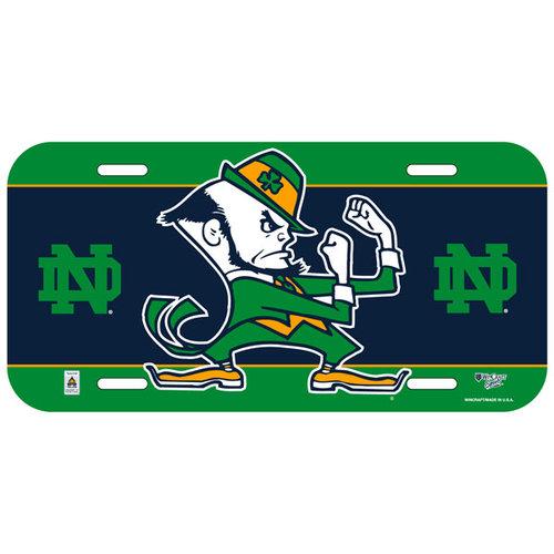 NCAA - Notre Dame Fighting Irish Logo Plastic License Plate