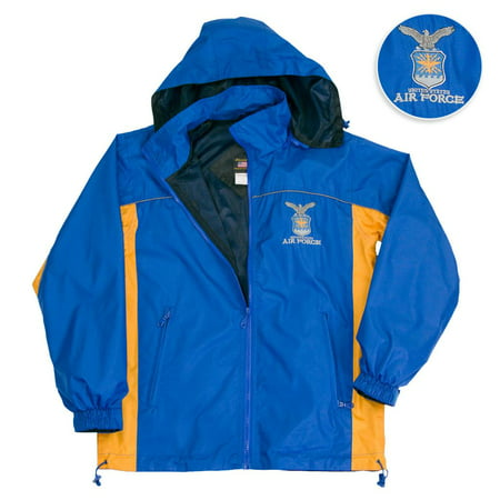 US Air Force Hooded Light Weight Wind Breaker