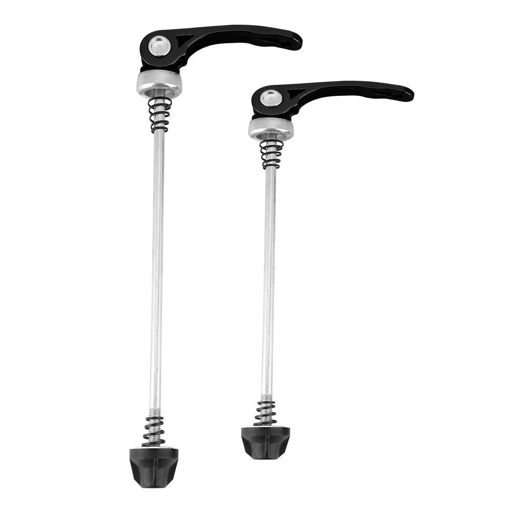 Bike Skewer Set Aluminum alloy Cycling 145mm*185mm 2pcs 1 Pair Parts Durable