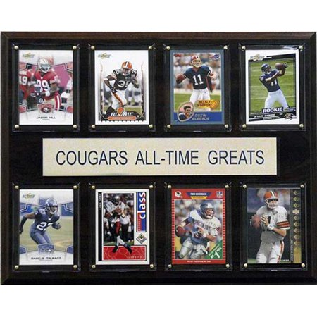 Washington Cougars Football (CandICollectables 1215ATGWST NCAA Football 12 x 15 in. Washington State Cougars All-Time Greats)