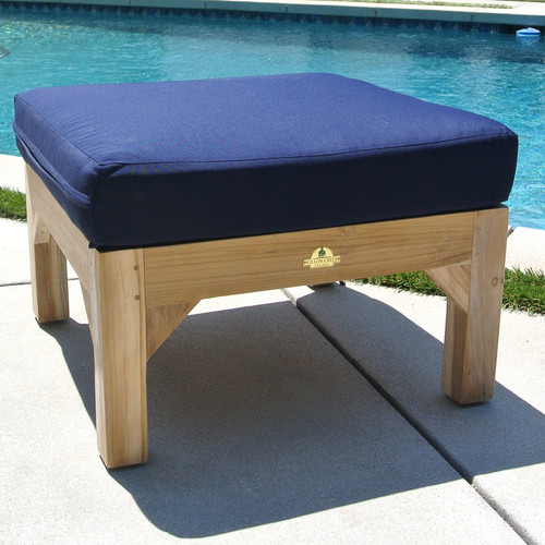 Willow Creek Designs Outdoor Sunbrella Ottoman Cushion