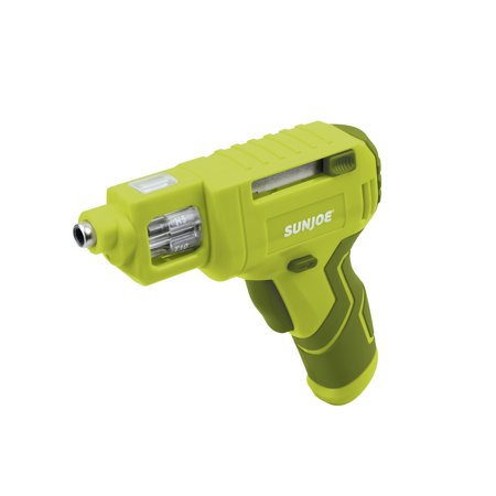 Sun Joe SJ4VSD Lithium-Ion Cordless Rechargeable Power Screwdriver | 4-Volt MAX w/ Quick Change Bit