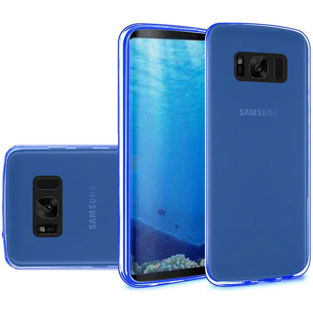 Samsung Galaxy S8 Case - Wydan TPU  Soft Gel Skin Case Flexible Durable Cover Smoke