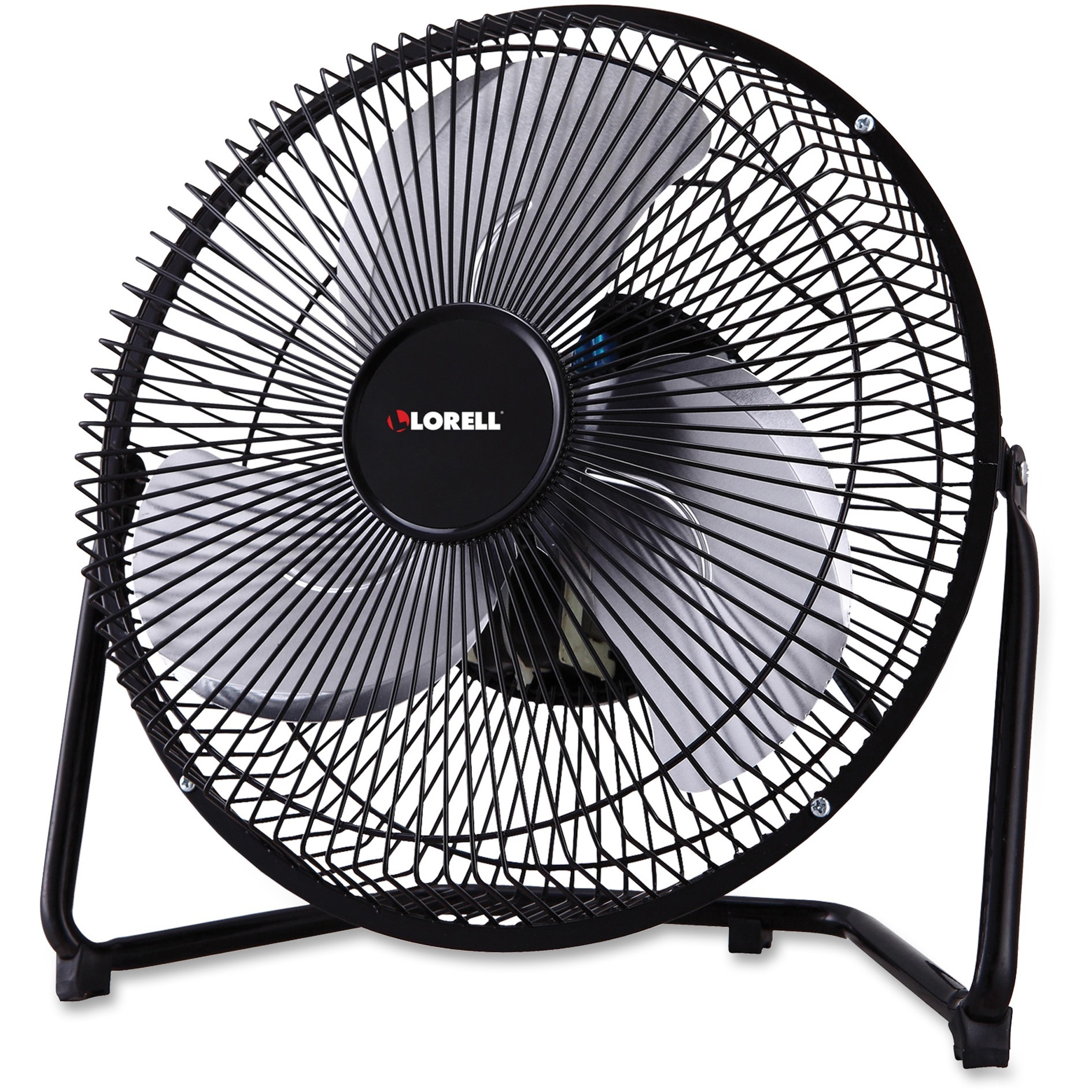 Lorell, LLR33982, 2-Speed Heavy Metal Fan, 1 Each, Black