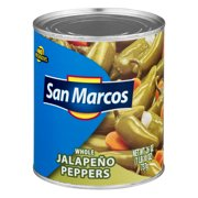 (6 Pack) San Marcos Whole Jalapeo Peppers, 26 Oz