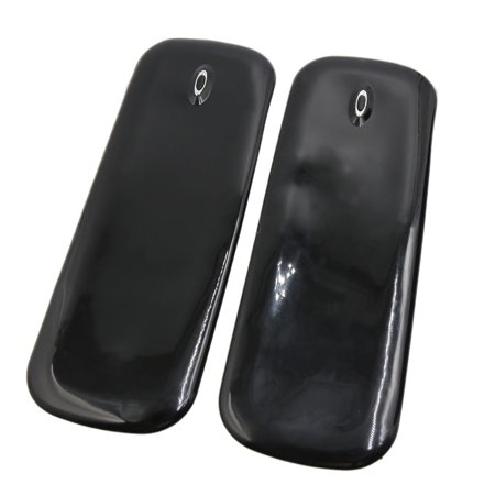 2 Pcs Black Car Front Rear Bumper Protector Corner Guard Scratch Sticker