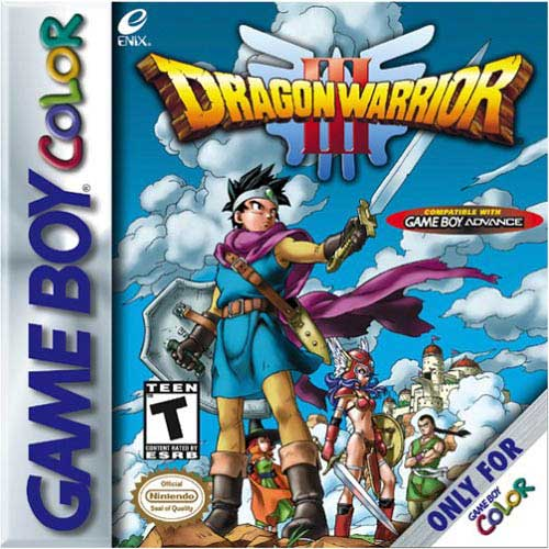 Square Enix Dragon Warrior III - GameBoy Color