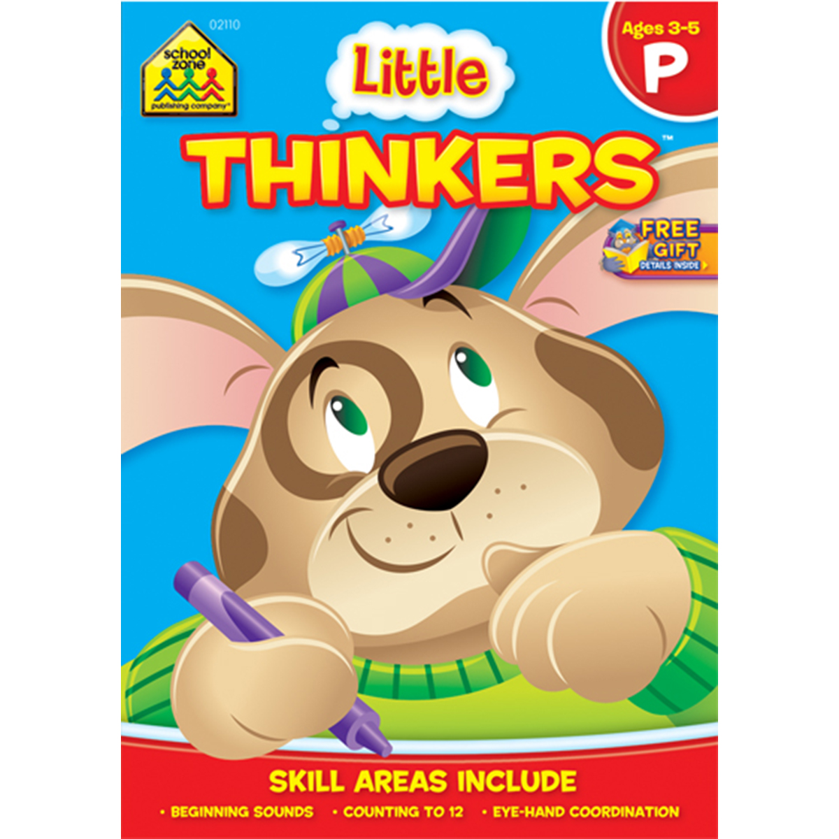 Preschool Workbooks, 32 Pages, Little Thinkers Preschool by School Zone
