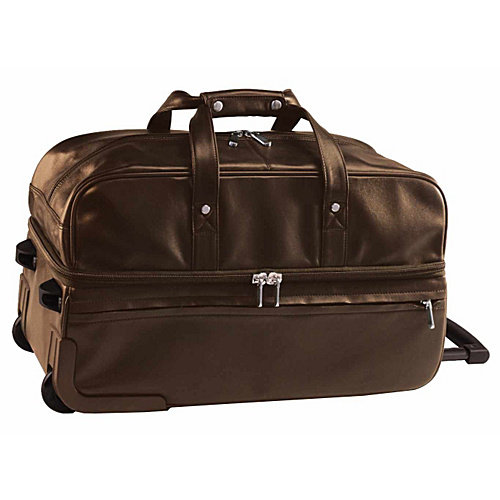 Royce Leather Trolley Duffel