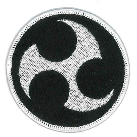 "Taewkondo Karate Martial Arts Uniform Patch, 2.75"""