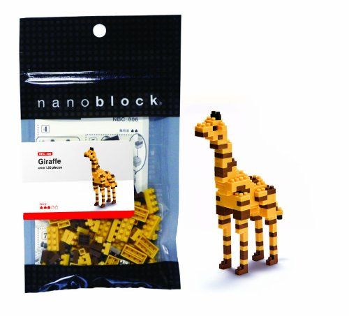 Giraffe Mini Building Set by Nanoblock (58100) by nanoblock