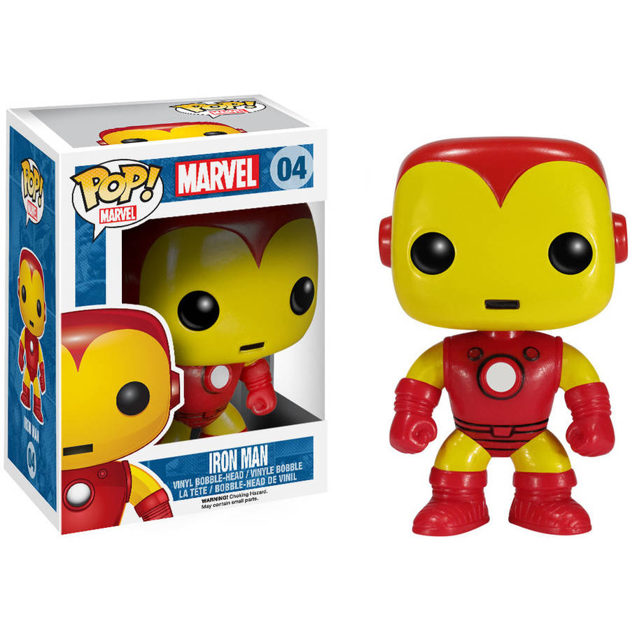 FUNKO Pop! Marvel Iron Man Vinyl Bobble Head Figure