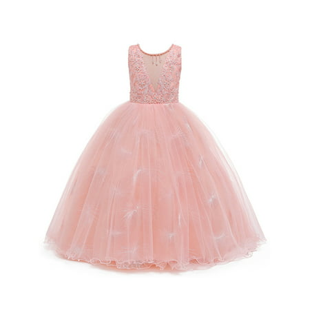 Children Clothes Princess Party Maxi Dress For Kids Girls Sleeveless Lace Wedding Party Bridesmaid Long Dress Wedding Gown Formal Dresses Kids Girl Pageant Party Lace Bow Flower Dresses Walmart Canada,Formal Wedding Dresses For Men