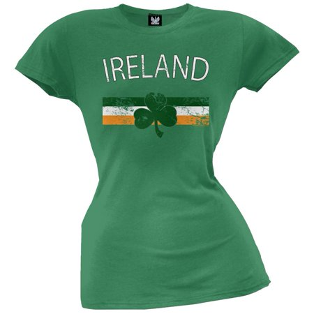 St. Patricks Day - Ireland Juniors T-Shirt - St Patricks Day Clothing