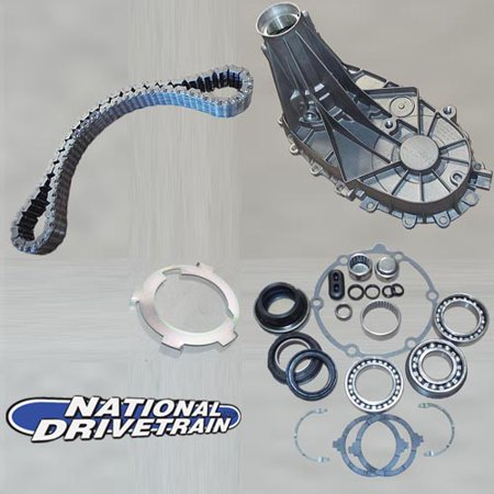 TRANSFER CASE REAR CASE HALF CHAIN BEARING UPGRADE REBUILD KIT - NP261 (LD ONLY) ()
