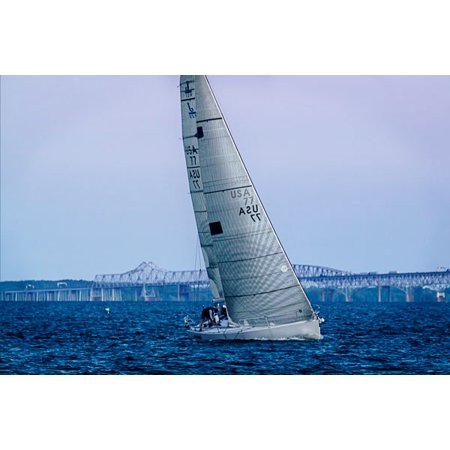 Sailing at Dusk I, Fine Art Photograph By: Alan Hausenflock; One 36x24in Fine Art Paper Giclee Print