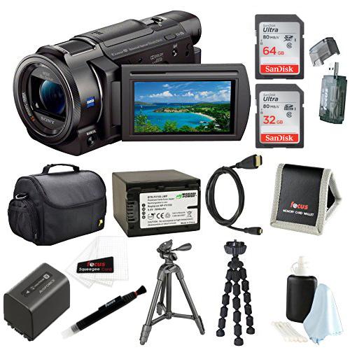 Sony FDR-AX33/B (FDR-AX33B, FDR-AX33) 4K Camcorder with 1...