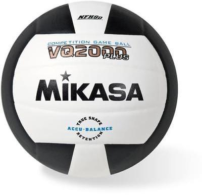 Mikasa VQ2000 Composite Practice Volleyball, Black