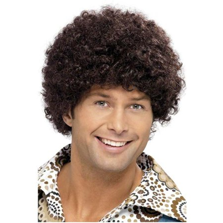 70s Disco Dude Brown Wig](Disco 70s)