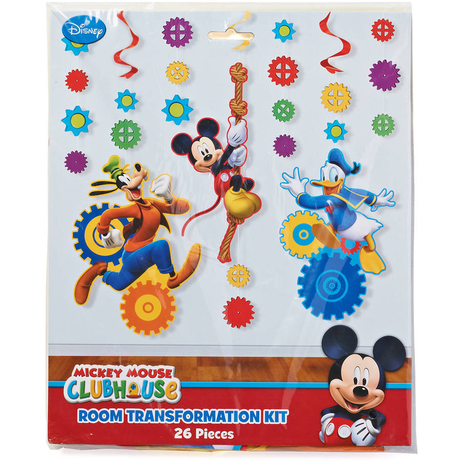 Mickey Mouse Clubhouse Bedroom Mickey Mouse Clubhouse Room Transformation Kit Party Supplies